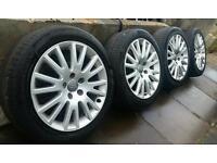 "Genuine 17"" Audi Sport Alloys A3 A4 A6 5X112 VW Golf Passat Jetta Seat Leon Skoda Octavia"