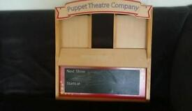Early Learning Centre wooden puppet theatre