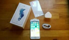 XMAS GIFT L@@K APPLE IPHONE 6S 16GB SILVER FULLY WORKING UNLOCKED EXCELLENT CONDITION