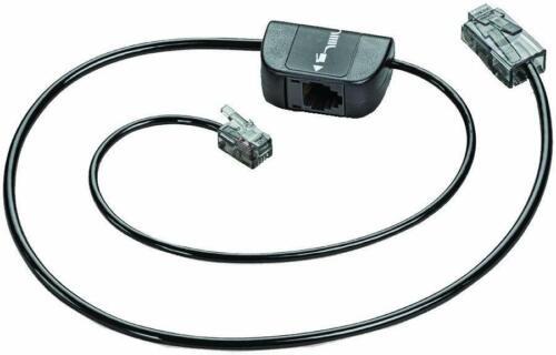 Plantronics 86007-01 Phone Interface Cable Savi CS510 CS520 W710 CS540 Mda200