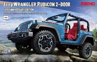 MENG 1/24 Jeep Wrangler Rubicon '10th Anniversary Edn.' #CS-003 *New Release*    (Jeep Wrangler Model Kit)