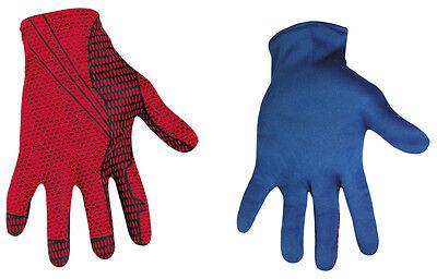 Spider-Man Movie Adult Gloves Hand Black Accessories Cosplay Disguise 42513 - Black Spiderman Gloves