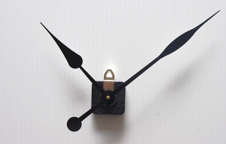 m canisme horloge pendule quartz aiguilles poire 17 23cm. Black Bedroom Furniture Sets. Home Design Ideas