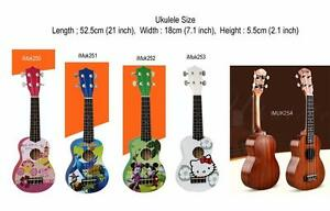 Ukueles Soprano 21 inch for beginners Brand new