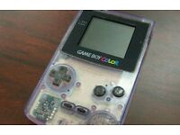 Gameboy Colour with games