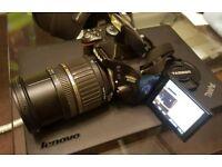 Nikon D5100 16.2MP DSLR + TAMRON AF 17-50mm lens + 16GB SD RRP: £1000 FREE uk FAST delivery