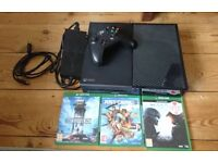 XBOX ONE 500GB with Box + 3 games
