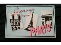 Paris canvas pictures