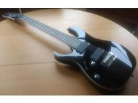 Left handed Ibanez 7 string electric guitar -RGIR27FEL-BK