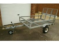 Trailer 6x4 quad, motorbike, lawnmower etc...