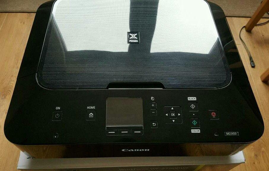 Canon Pixma MG5450 Printer & Scanner, WiFi