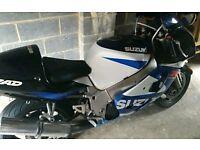 Suzuki gsxr 600cc srad (2000)