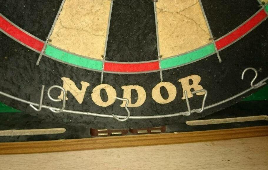 Nodor Dartboard and Cabinet