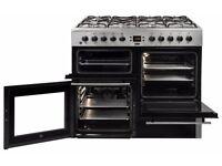 beko 100 cm wide range cooker