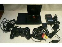 SONY PS2 SLIMLINE CONSOLE