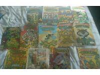 Various TMHT comics