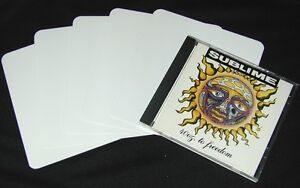 30-CDNS60WH20-White-Jewel-Case-CD-Divider-Bin-Cards-Standard-5-5-8-x6-20-Mil