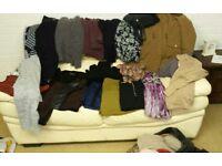 Huge joblot of size 12/14 ladies clothes
