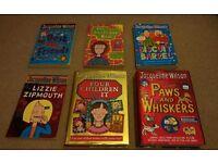 Jacqueline Wilson books x 6 set D