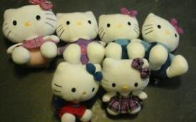 Hello Kitty plush toy bundle