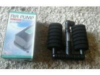Aquarium pump and filter