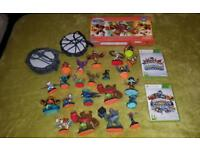 Skylanders figures and xbox games