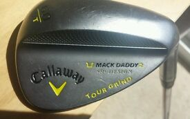 Callaway Mack daddy 60 degree lob wedge, Very Good Condition...
