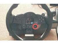 PC /PS3 steering wheel sold
