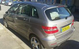 MERCEDES B CLASS 72 K MILES. EXCELLENT CONDITION IN AND OUT. QUICK SALE