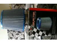 ...NEW..Super powerflow universal cone air filter