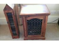 CD Rack and cabinet