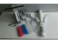 Nintendo Wii Games Console @ Accessories Bundle +Wii Input to HDMI 1080P HD Converter