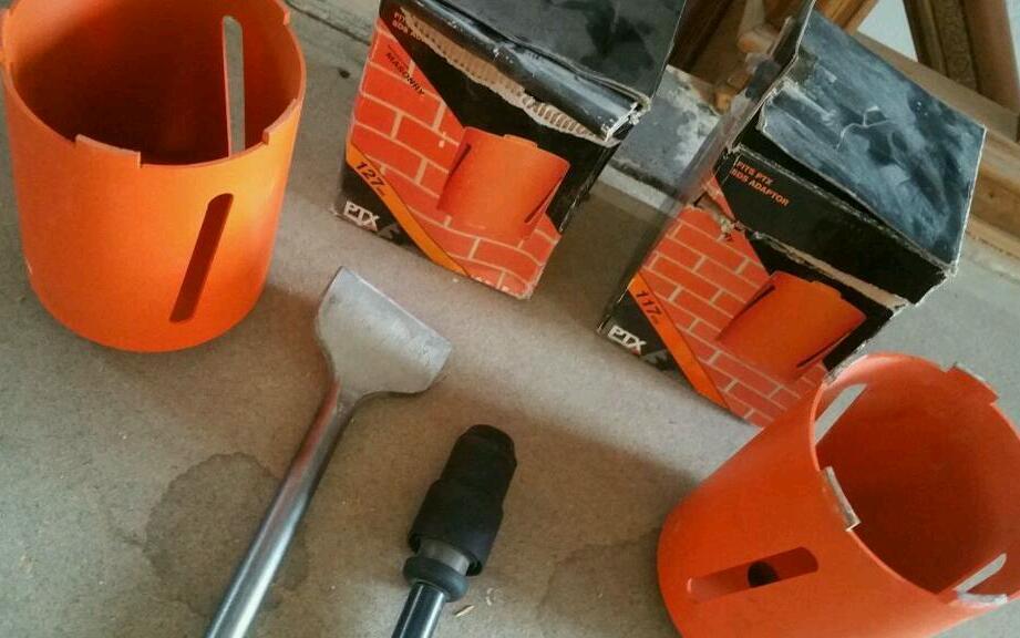 SDS drill accessories plasterers hawk ptx diamond