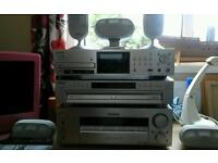 SONY SURROUND SOUND WITH NETWORK HDD RECORDER DVD PLAYER SUBWOOFER