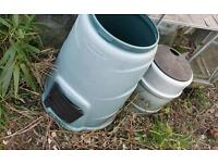 Free water butts or composters