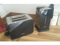 Panasonic toaster and kettle
