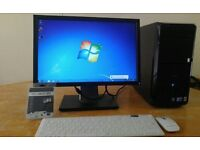 "Save £40 FAST SSD - Dell Vostro 230 Computer Tower PC & 19"" Dell LCD - Last ONE Bargain -"