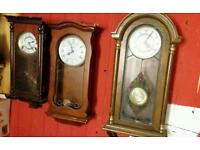 Wall Clocks x3