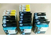 HP11 cartridges and printheads