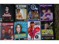 Job lot comedy DVDs