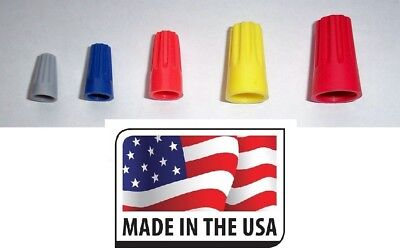 Wire Twist Nut Connector 300 Pcs Assortment Twist On Splice Made In Usa