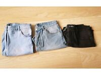 Size 14 jeans and shorts bundle