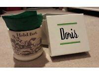 Hiho Doris & co hold fast mug