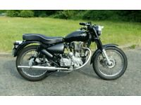Royal Enfield 500cc (Lightly Modified)