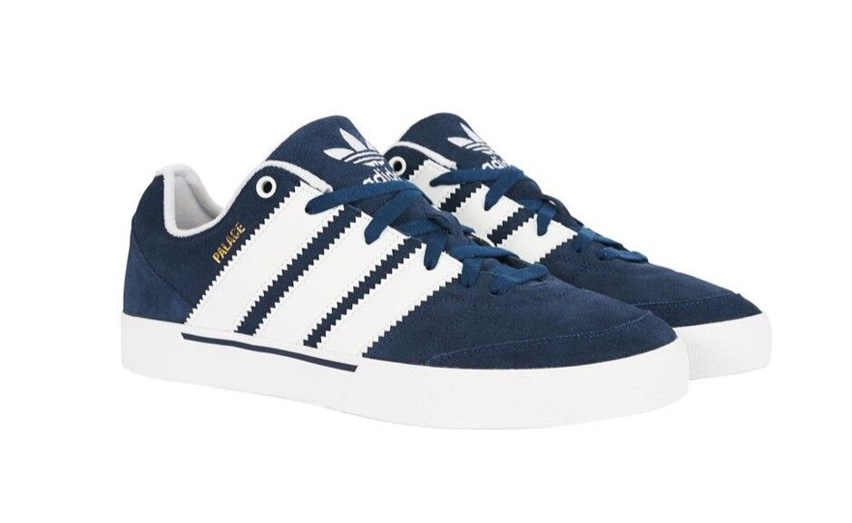 Palace Skateboard X Adidas OReardon Shoes Navy - Size UK 9