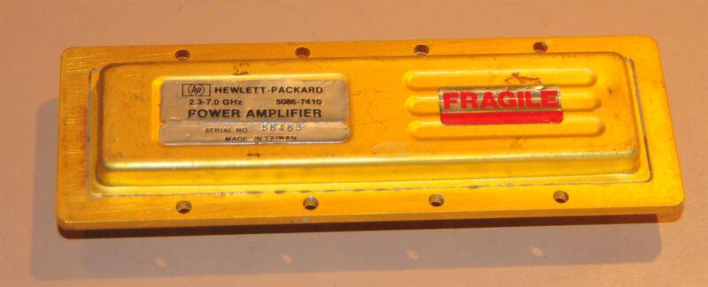 HP-5086-7410 Power Amplifier 2.3-7.0 GHz