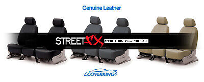 CoverKing Genuine Leather Custom Seat Covers for Toyota FJ Cruiser
