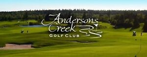 4 Free Green Fees to Andersons Creek