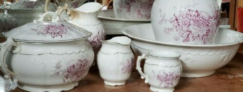 5-Pc Chamber Set in Semi-Vitreous Porcelain by KT&K - Knowles Taylor & Knowles