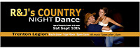 SEPT 10TH - ROMEO & JULIET's Country Night SINGLES DANCE